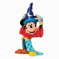 Disney by Romero Britto - Sorcerer Mickey Mouse Mini Figurine