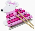 Pink Mouse Xylophone