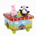 Orange Tree Toys Farm Music Box