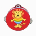 Orange Tree Toys Lion Tambourine